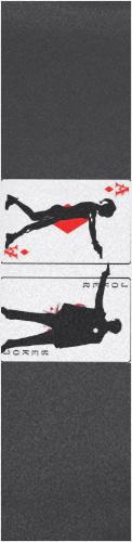 joker and harley quinn cards Custom longboard griptape