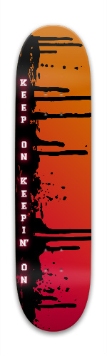 Keep On Park Skateboard 7.88 x 31.495