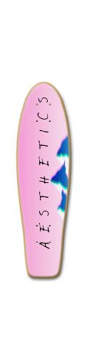 A E S T H E T I C S Vaporwave Deck Green Tail