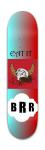 BraneFX Park Skateboard 7 3/8 x 31 1/8
