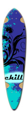 chill Dart Skateboard Deck v2