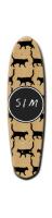 Custom Riviera Anatomy of a Skateboard 8 x 30