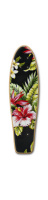 floral print penny board Green Tail