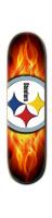 Steelers Park Skateboard 8 1/4  x 32