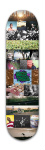 New Years Gift Park Skateboard 8 x 31 3/4