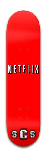 Netflix Banger Park Skateboard 8 x 31 3/4