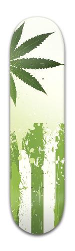 Ganjamerican Flag Banger Park Skateboard 8 x 31 3/4