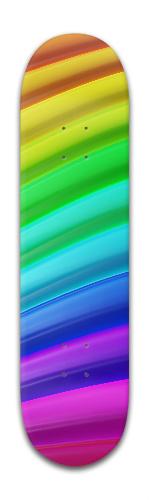 Rainbow Banger Park Skateboard 8 x 31 3/4