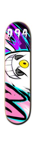 shiny gengar Banger Park Skateboard 8 1/4  x 32