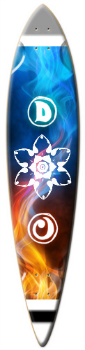 fire and ice Surf Dart