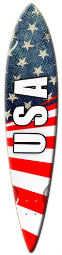 patriotic v3 Surf Dart