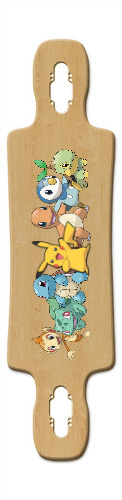 pokemon Gnarlier 38 Skateboard Deck v2