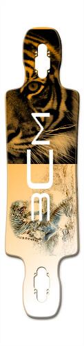 twoface tiger Gnarlier 38 Skateboard Deck v2
