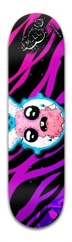 Unhappy bunny 1 Banger Park Complete Skateboard 8.5 x 32 1/8