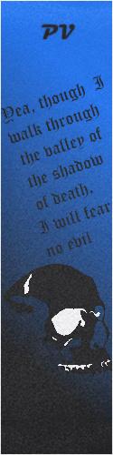 Shadow of Death Custom skateboard griptape