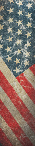 Old Glory Custom longboard griptape
