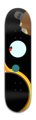 Interstellar Banger Park Skateboard 8 x 31 3/4