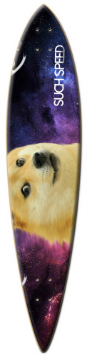 Doge longboard Surf Dart