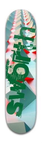 Sworth Banger Park Skateboard 8 x 31 3/4