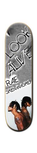 Rae Sremmurd skateboard Park Skateboard 8 1/4  x 32