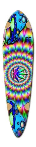 weed Dart Skateboard Deck v2