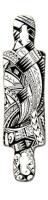 Samoa Gnarlier 38 Skateboard Deck v2