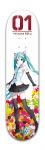 Hatsune Miku Park Complete Skateboard 8 x 31 3/4