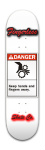 Danger Fingerless Park Skateboard 8 x 31 3/4