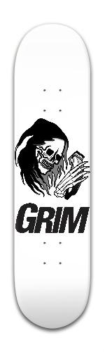 new grim Park Skateboard 8 x 31 3/4