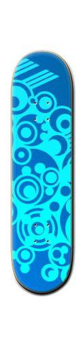 Deep sea swirls Park Skateboard 8 1/4  x 32