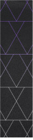 Abstract Triangles Custom longboard griptape