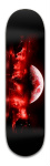 Red Moon Strike Banger Park Skateboard 8.5 x 32 1/8