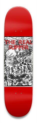 Demonic Supper Park Skateboard 8.5 x 32.463