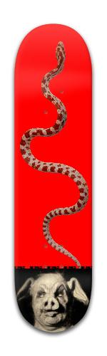 swine serpent Banger Park Skateboard 8 x 31 3/4