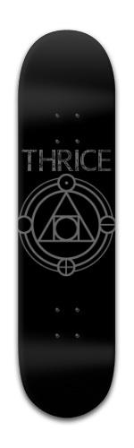 Thrice Banger Park Skateboard 8 x 31 3/4