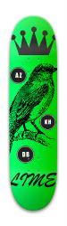 Lime #1 Park Skateboard 8 x 31.775