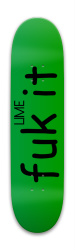 Lime #2 Park Skateboard 8 x 31.775