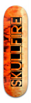 skullfire Banger Park Skateboard 8.5 x 32 1/8