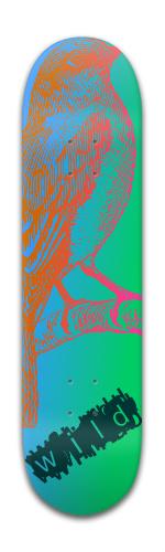 Wild Skateboard Banger Park Skateboard 8 x 31 3/4