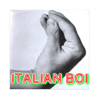 ITALIAN BOI Sticker 4 x 4 Square