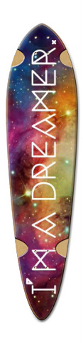 Galaxy Dart Skateboard Deck v2