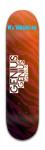 Genius skateboard co. Park Skateboard 8 x 31 3/4