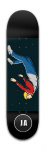 The Flow Awakens Park Skateboard 7 7/8 x 31 5/8