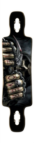 DEATH Gnarlier 38 Skateboard Deck v2