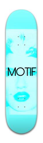 BLUE | MOSS Banger Park Skateboard 8 x 31 3/4