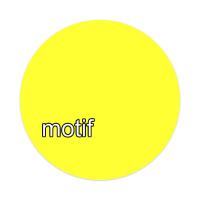 Sunny | motif | Sticker 4 x 4 Circle