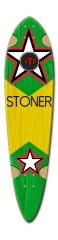stoner Dart Skateboard Deck v2