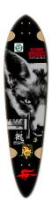 #BLACK-FOX Dart Skateboard Deck v2