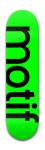 Motif!   green Park Skateboard 8 x 31 3/4