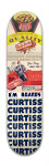'Sweet Tooth' or 'Curtiss' Board -- Park Skateboard 7 7/8 x 31 5/8